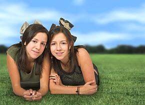 twin teens